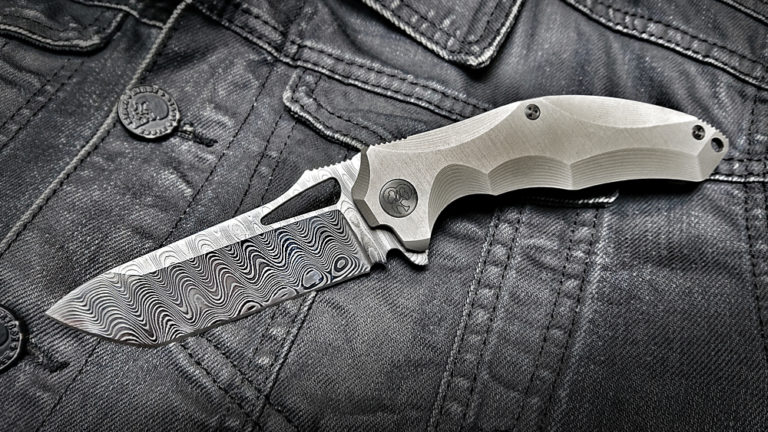 Darkstalker Folder Mini Damasteel
