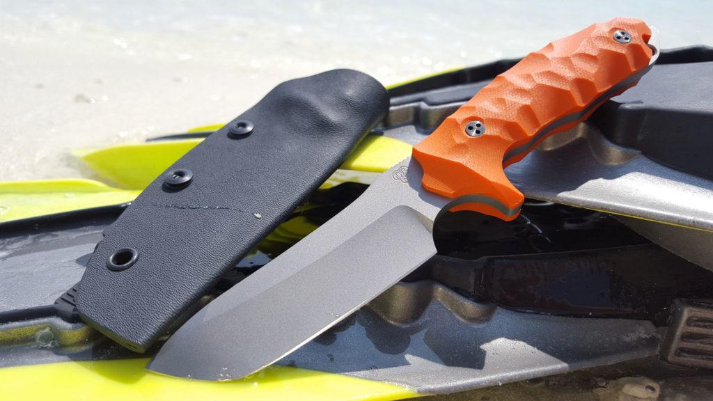 MK9 G10 orange Flossen